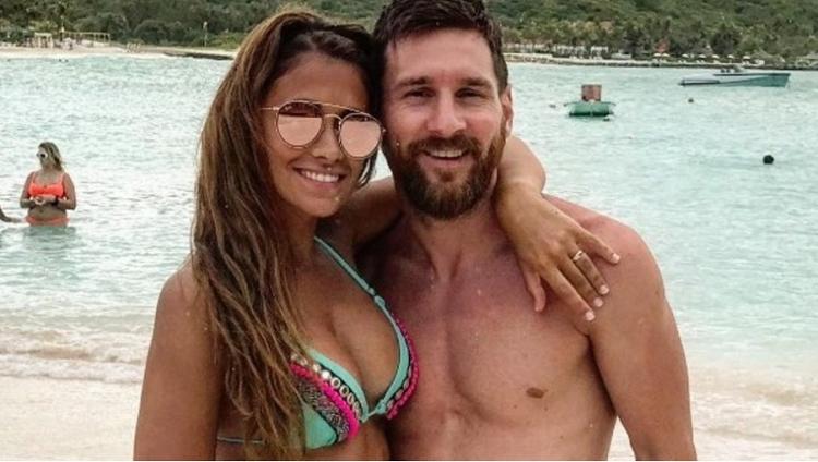 Lionel Messi y Antonella siguen disfrutando su luna de miel