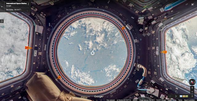 Google crea un 'Street View' de la Estación Espacial Internacional