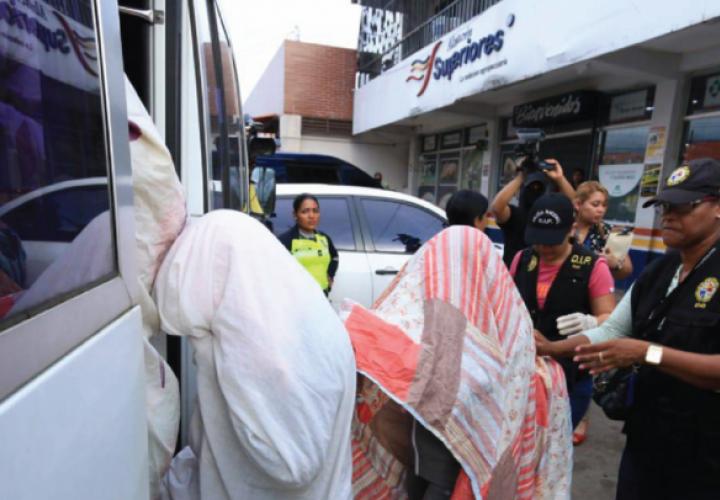 Rescatan a 50 víctimas de red de trata de blancas en Panamá
