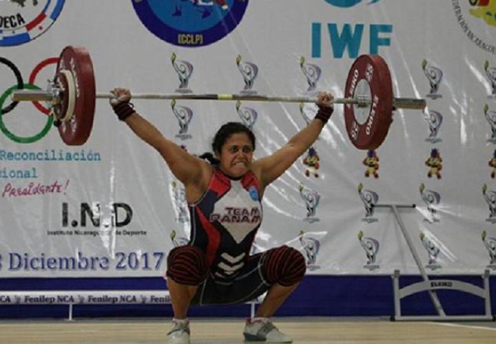La veragüense Rocío Navarro logró tres medallas de oro. Foto: Comité Olímpico de Panamá