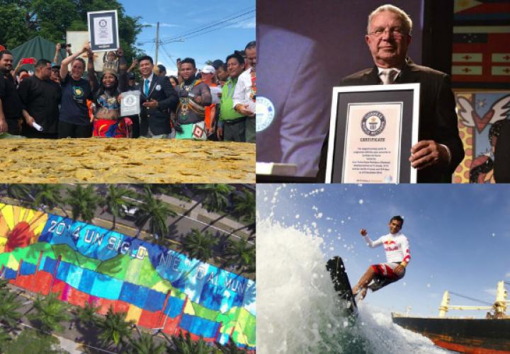 El patacón más grande y otros récords Guinness de Panamá