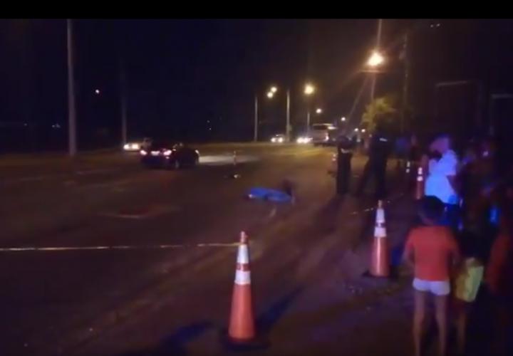 Taxista desalmado atropella y mata a un hombre, le arranca una pierna y se fuga