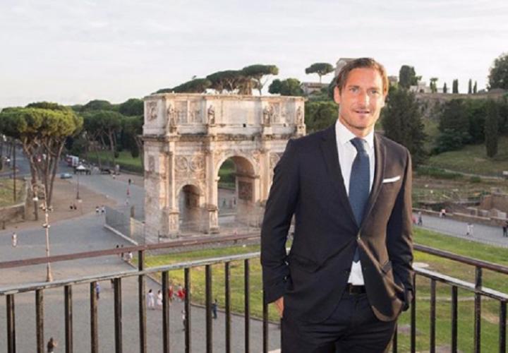 El excapitán del Roma. Foto:Instagram