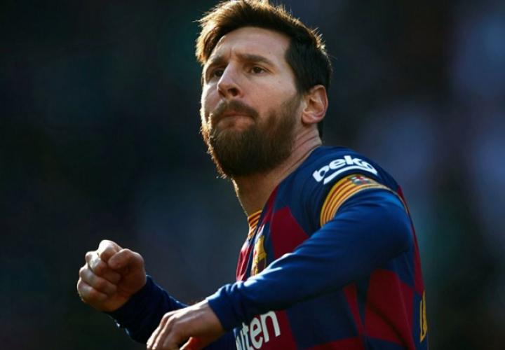 Lionel Messi, jugador del Barcelona. Foto: Twitter