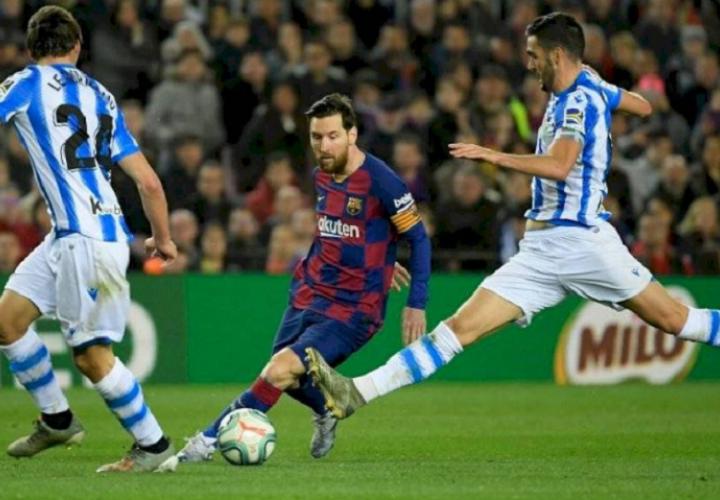Lionel Messi, jugador del Barcelona.