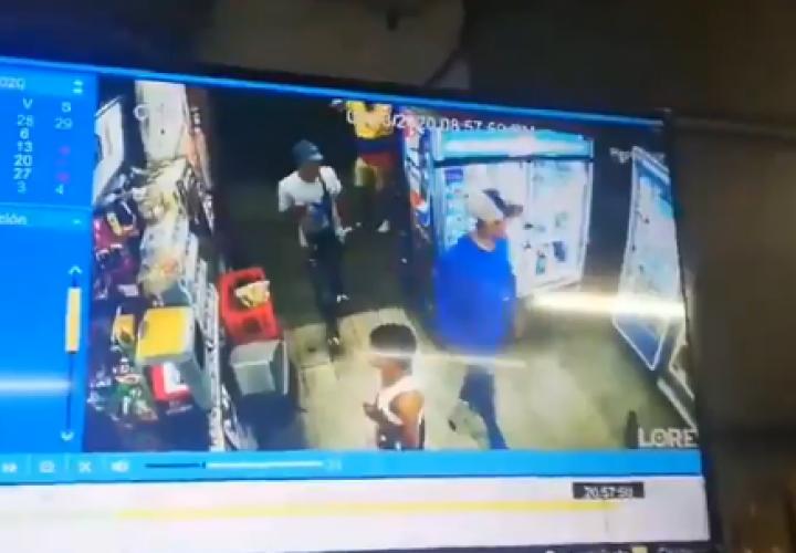 Delincuentes roban y hacen de las suyas en Campo Limbergh (Video)