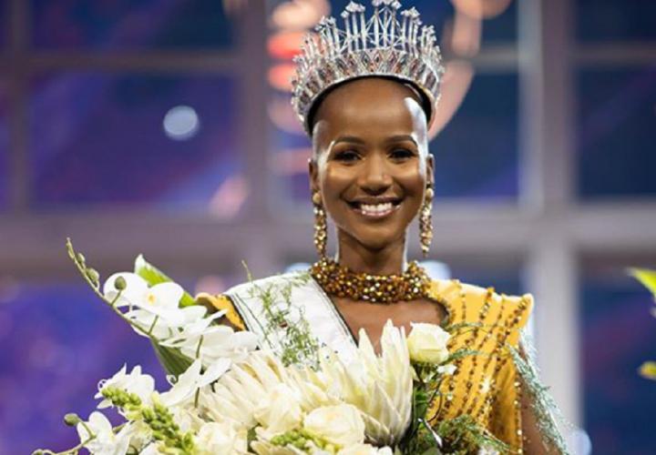 Eligen a Miss Sudáfrica 2020 y su estilo causa furor en las redes sociales