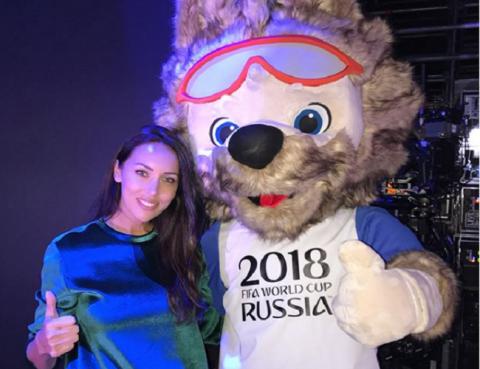 La actríz rusa comenzó su carrera musical a los 16 años. Foto: Instagram