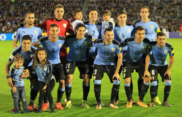 Uruguay integra el Grupo A junto a Egipto, Rusia y Arabia Saudí. Foto: EFE