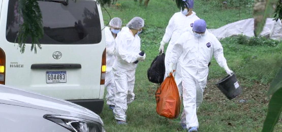 El cuerpo de un recién nacido es trasladado a la Morgue Judicial