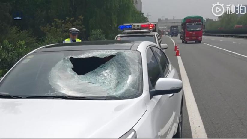 rigada de alta velocidad de la Policía de tráfico de Xi'an.