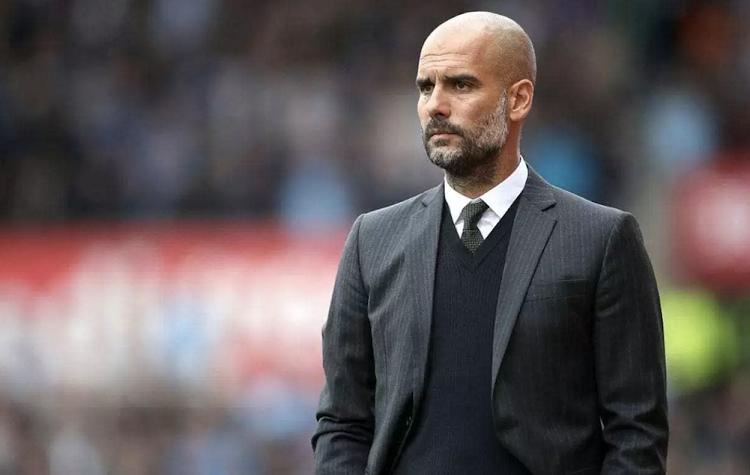 Pep Guardiola, entrenador del Manchester City. Foto. EFE