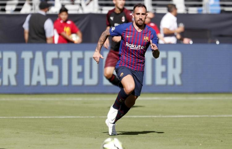 Alcácer ha marcado 15 goles en los 51 partidos en los que ha sido alineado en la delantera del Barça. Foto: FC Barcelona